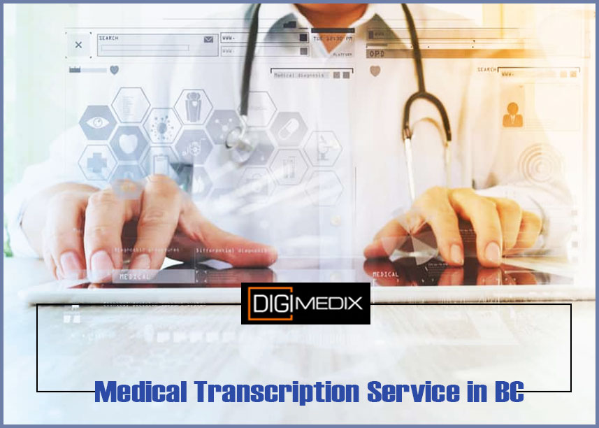 medical transcription service in bc